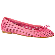 Buy Collection WEEKEND by John Lewis Versailles Leather Ballerina Pumps Online at johnlewis.com
