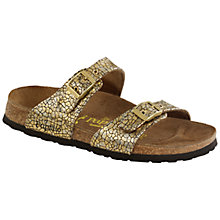 Buy Birkenstock Sydney Suede Sandals Online at johnlewis.com