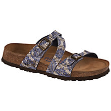 Buy Birkenstock Salina Kenja Sandals, Blue Online at johnlewis.com