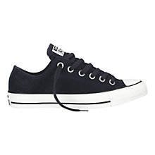 Buy Converse Chuck Taylor All Star Ox Suede Trainers, Navy Online at johnlewis.com