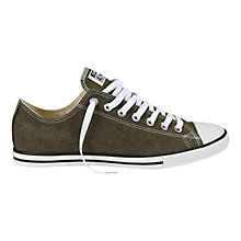 Buy Converse All Star Chuck Taylor Lean Herringbone Trainers, Khaki Online at johnlewis.com