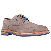 Buy KG by Kurt Geiger Crooks Suede Derby Shoes Online at johnlewis.com