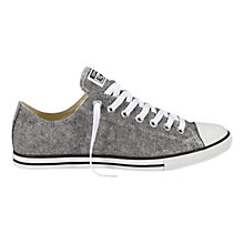 Buy Converse Chuck Taylor All Star Lean Trainers, Black Online at johnlewis.com