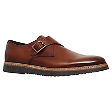 Buy KG by Kurt Geiger Forman Leather Monk Shoes Online at johnlewis.com