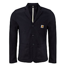 Buy Carhartt Sid Blazer, Dark Blue Rinse Online at johnlewis.com