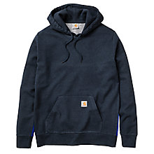 Buy Carhartt Porter Hoodie, Duke Blue Heather Online at johnlewis.com