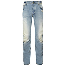 Buy G-Star Raw Arc 3D Slim Jeans, Light Aged Destroy Online at johnlewis.com