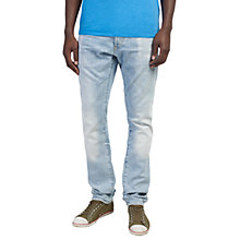 Buy G-Star Raw 3301 Slim Jeans, Light Aged Online at johnlewis.com