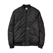 Buy Carhartt Ferris Bomber Jacket, Black Online at johnlewis.com