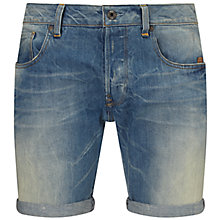 Buy G-Star Raw Defend Denim Shorts, Light Aged Online at johnlewis.com