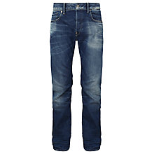 Buy G-Star Raw Attacc Straight Jeans, Medium Aged Online at johnlewis.com