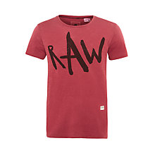 Buy G-Star Limbar Graphic Cotton T-Shirt, Fig Online at johnlewis.com