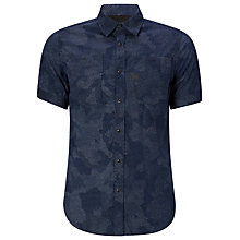 Buy G-Star Raw A-Crotch Shirt, Navy Online at johnlewis.com