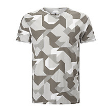 Buy G-Star Raw Moiric Graphic Cotton T-Shirt, Multi Grey Online at johnlewis.com
