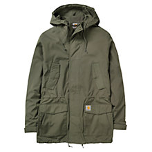 Buy Carhartt Battle Hooded Parka, Leaf Online at johnlewis.com