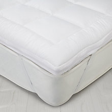 Buy John Lewis Soft and Washable Dual Layer Mattress Topper Online at johnlewis.com