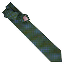 Buy Thomas Pink Gordon Neat Woven Silk Tie Online at johnlewis.com