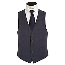 Buy Ben Sherman Tailoring Graphic Check Waistcoat, Peacoat Online at johnlewis.com