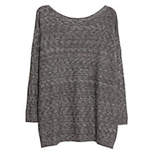 Buy Violeta by Mango Metallic Thread Jumper Online at johnlewis.com