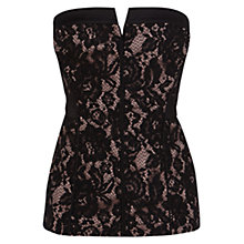 Buy Coast Penberly Bustier, Black Online at johnlewis.com
