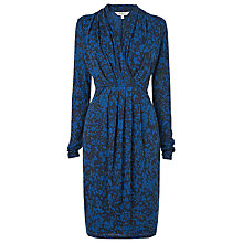 Buy L.K. Bennett Taupo Printed Jersey Dress, Navy Online at johnlewis.com