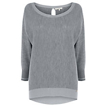 Buy Wishbone Marquax Merino Blend Knit Jumper, Mid Grey Online at johnlewis.com