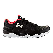 Buy Under Armour Micro G Optimum Women's Running Shoes, Black Online at johnlewis.com