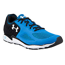 Buy Under Armour Men's Neo Mantis Running Shoes, Blue/Black Online at johnlewis.com