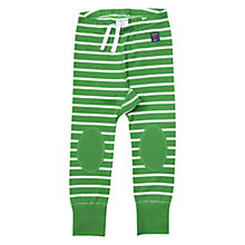 Buy Polarn O. Pyret Baby Stripe Drawstring Leggings, Green Online at johnlewis.com