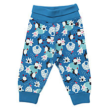 Buy Polarn O. Pyret Igloo Print Trousers Online at johnlewis.com