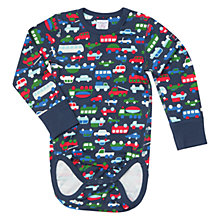 Buy Polarn O. Pyret Car Print Bodysuit Online at johnlewis.com