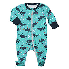 Buy Polarn O. Pyret Baby Moose Print Pyjamas Online at johnlewis.com