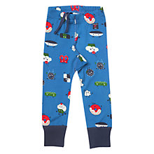 Buy Polarn O. Pyret Baby Fun Foods Print Leggings, Blue Online at johnlewis.com