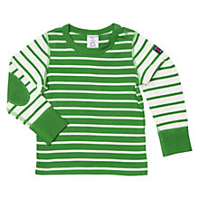 Buy Polarn O. Pyret Baby Long Sleeve Striped Top Online at johnlewis.com