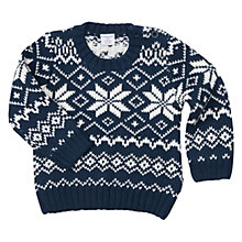 Buy Polarn O. Pyret Baby Christmas Jumper Online at johnlewis.com