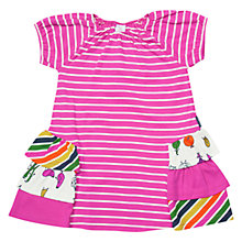 Buy Polarn O. Pyret Baby Striped Dress Online at johnlewis.com