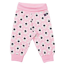 Buy Polarn O. Pyret Teddy Bear Trousers, Pink Online at johnlewis.com