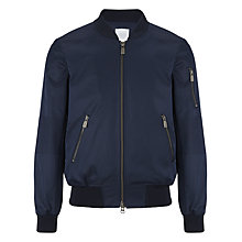 Buy Eleven Paris Kuxy M Bomber Jacket, Navy Online at johnlewis.com