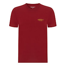 Buy Carhartt 89 Short Sleeved T-Shirt Online at johnlewis.com