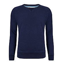 Buy Levi's Crew Neck Cotton Sweatshirt, Indigo Online at johnlewis.com