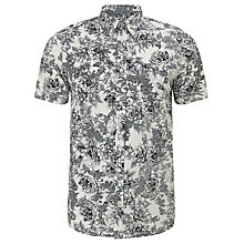 Buy Carhartt Wild Rose Short Sleeve Shirt, Wax/Colony Online at johnlewis.com