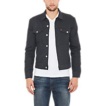 Buy Levi's Denim Trucker Jacket, Blue Online at johnlewis.com