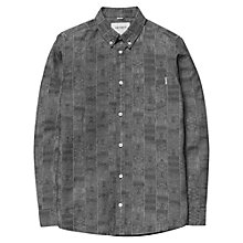 Buy Carhartt Dustin Apache Jacquard Print Shirt, Washed Black Online at johnlewis.com