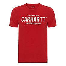 Buy Carhartt Soon Ripe Soon Rotten Script T-Shirt Online at johnlewis.com