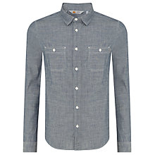 Buy Carhartt Clink Cotton Shirt, Blue Online at johnlewis.com