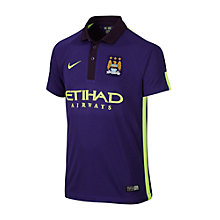 Buy Nike Manchester City Replica Junior Third Shirt, Court Purple Online at johnlewis.com