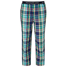 Buy Polo Ralph Lauren Woven Check Lounge Pants Online at johnlewis.com