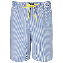 Buy Polo Ralph Lauren Woven Stripe Lounge Shorts, Blue/White Online at johnlewis.com