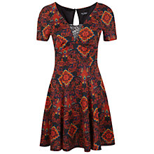 Buy Miss Selfridge Paisley Fit And Flare Dress, Multi Online at johnlewis.com