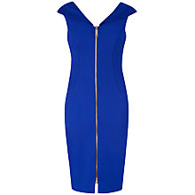 Buy Ted Baker Dart Detail Bodycon Dress, Greige Online at johnlewis.com